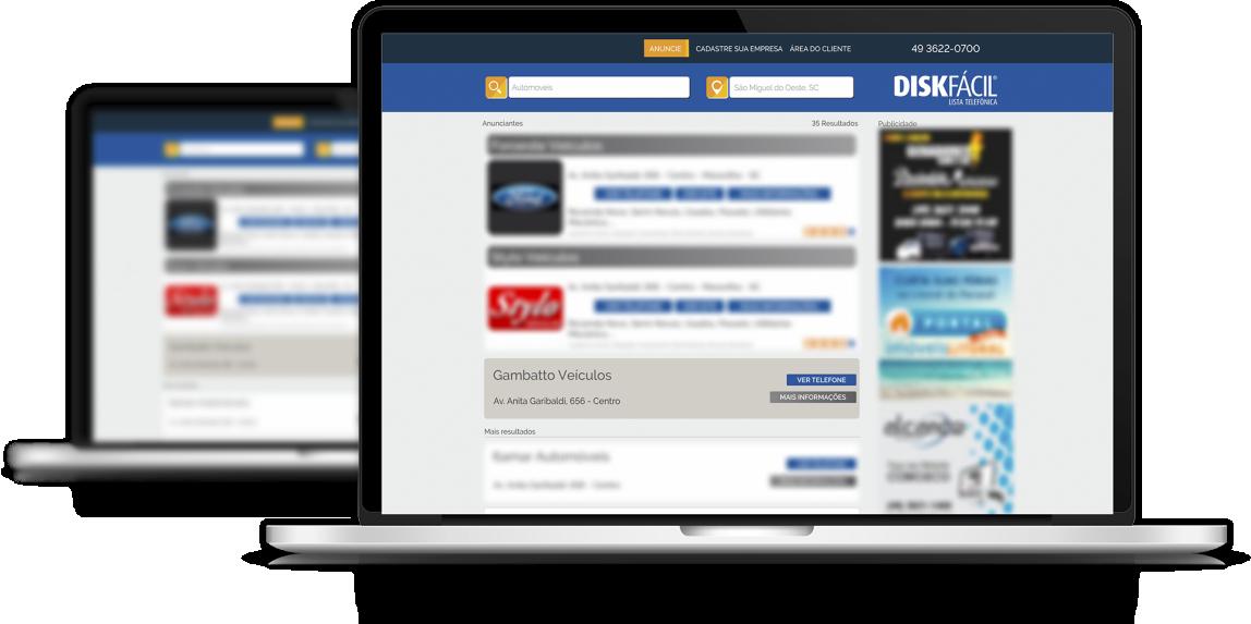 Anunciar Portal Online - Disk Fácil Listas Telefônicas