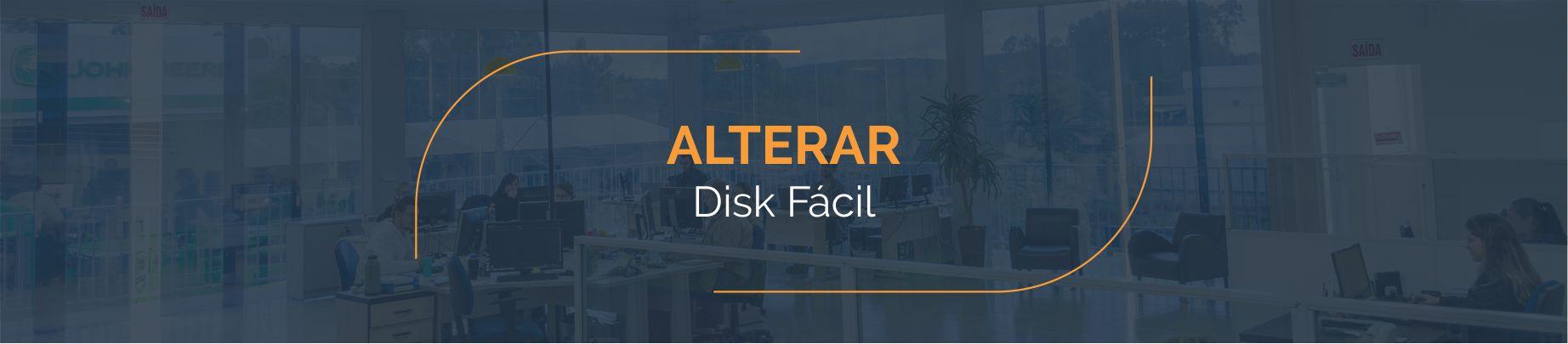 Alterar - Disk Fácil Listas Telefônicas