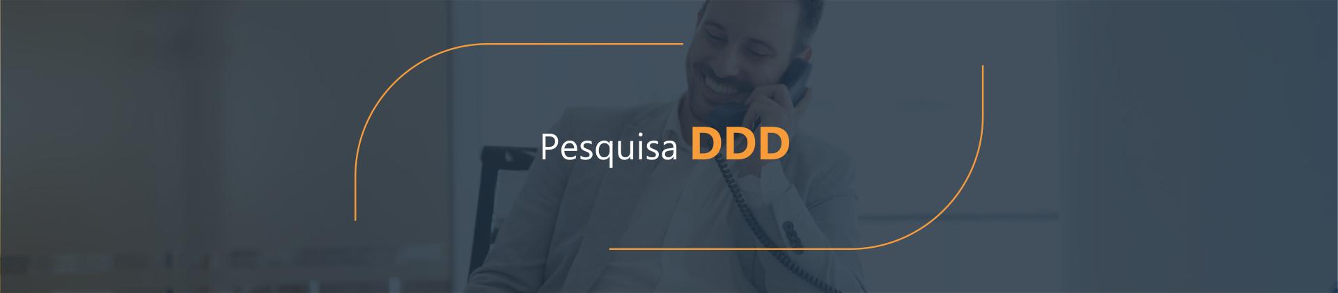 Pesquisa DDD - Disk Fácil Listas Telefônicas